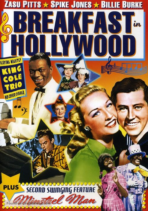 Breakfast in Hollywood - DVD movie cover