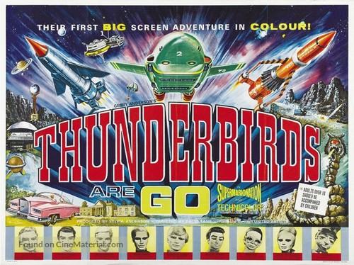 Thunderbirds Are GO - British Movie Poster