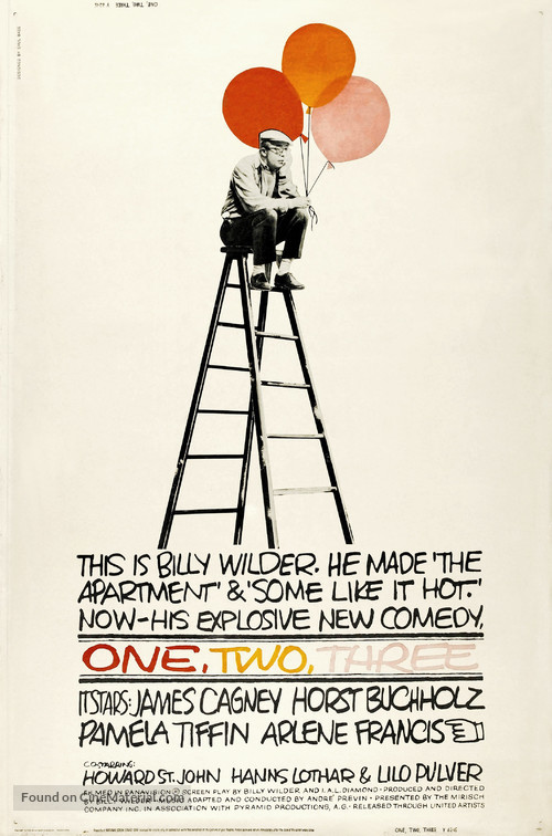 One, Two, Three - Movie Poster