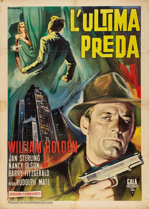 Union Station - Italian Movie Poster