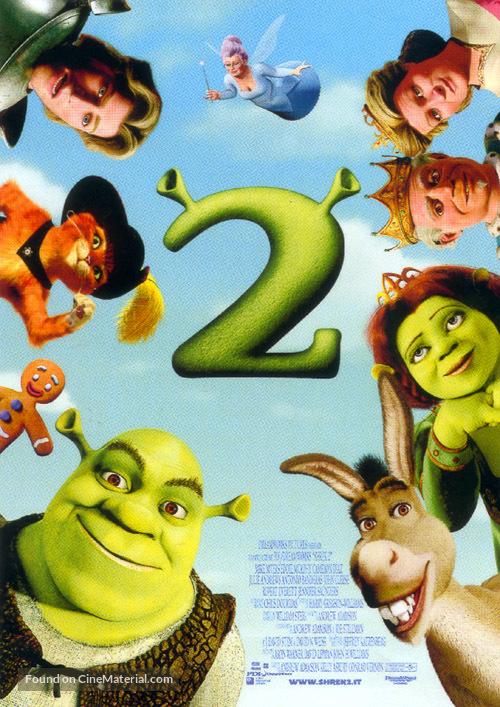 Shrek 2 - Italian Movie Poster