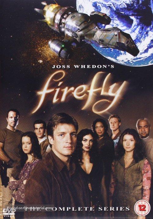 """Firefly"" - British DVD movie cover"