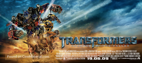 Transformers Revenge Of The Fallen 2009 Movie Poster