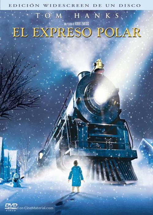 The Polar Express - Argentinian DVD movie cover