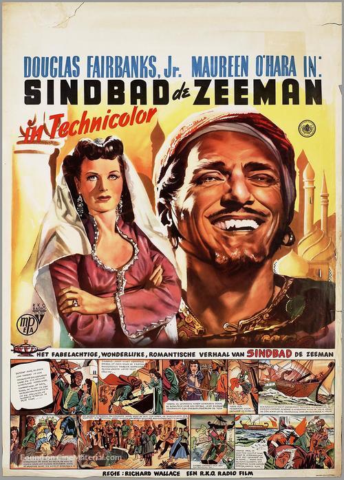 Sinbad the Sailor - Dutch Movie Poster