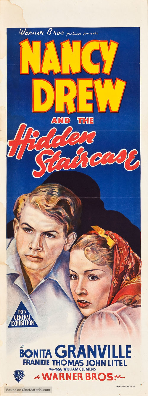 Nancy Drew And The Hidden Staircase   Australian Movie Poster