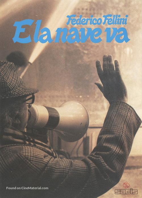E la nave va - Italian Movie Poster