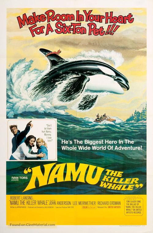 Namu, the Killer Whale - Movie Poster