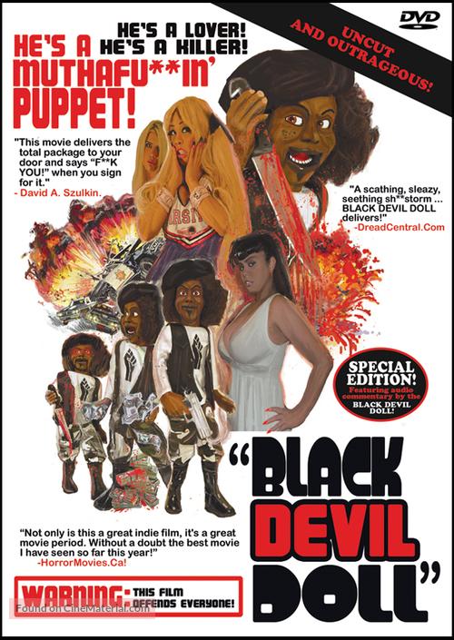 Black Devil Doll - DVD movie cover