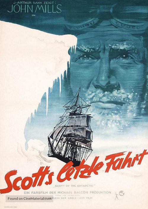 Scott of the Antarctic - German Movie Poster
