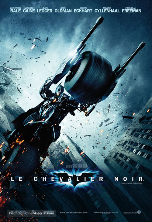 The Dark Knight - French Movie Poster