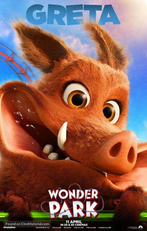 Wonder Park - New Zealand Movie Poster