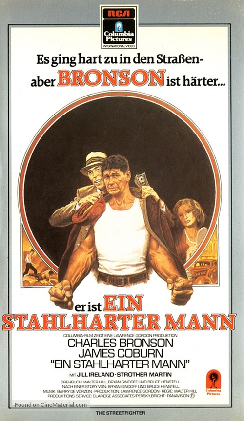 Hard Times - German VHS movie cover