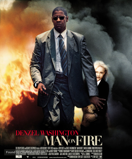 Man On Fire - Movie Poster