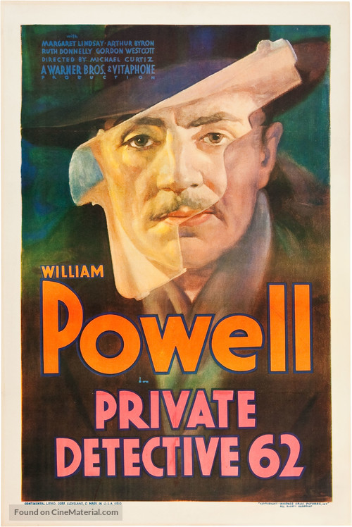 Private Detective 62 - Movie Poster