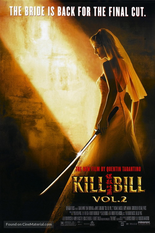 Kill Bill: Vol. 2 - Movie Poster