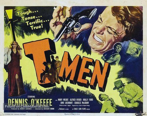 T-Men - Movie Poster