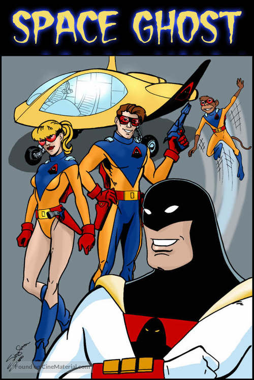 """""""Space Ghost"""" - Movie Cover"""