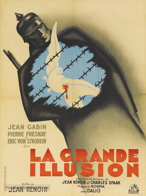 La grande illusion - French Movie Poster