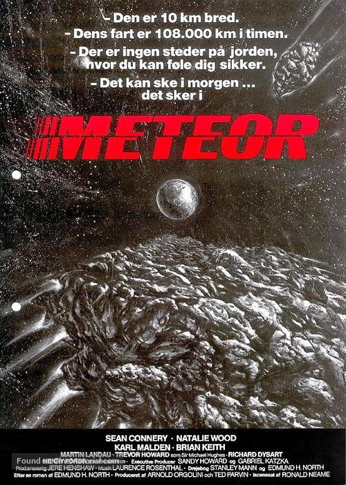 Meteor - Danish Movie Poster