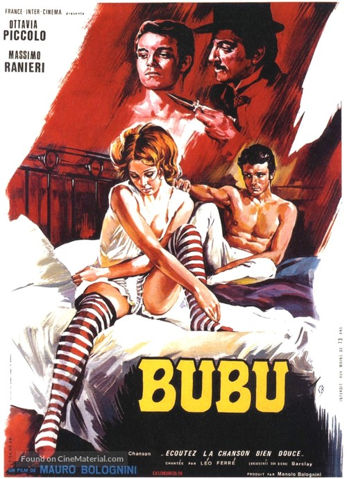 Bubù - French Movie Poster