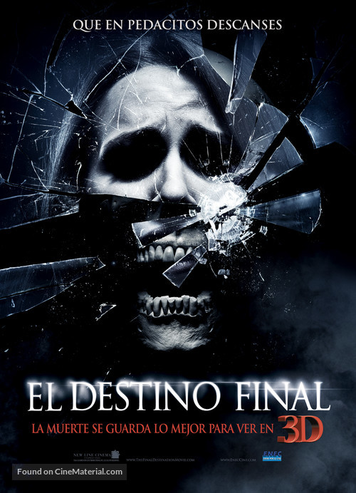The Final Destination - Argentinian Movie Poster