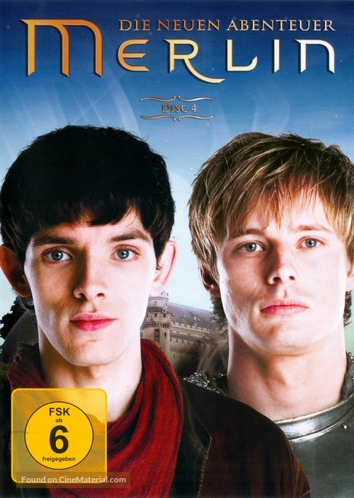 """Merlin"" - German DVD cover"
