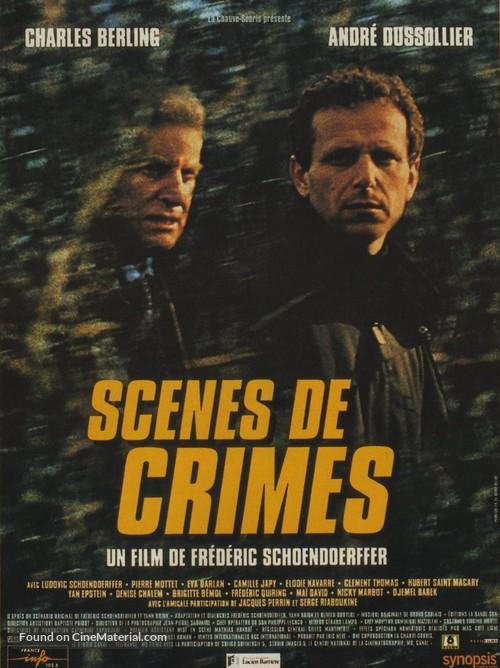 Scènes de crimes - French Movie Poster