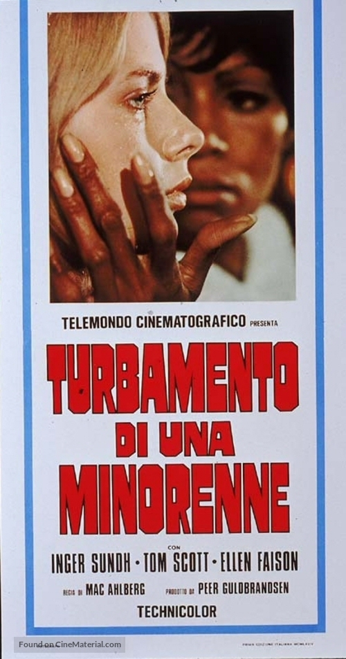 3 slags kærlighed - Italian Movie Poster