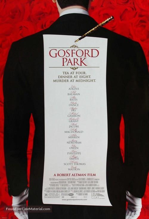 Gosford Park - Movie Poster