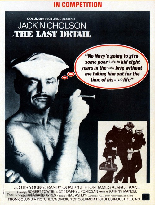 The Last Detail - Movie Poster