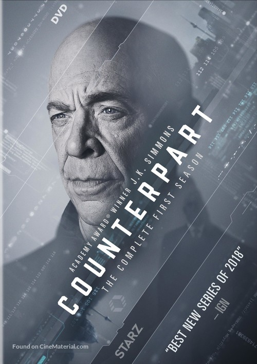 """""""Counterpart"""" - DVD movie cover"""