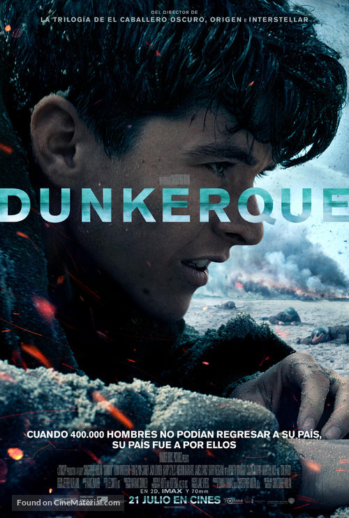 Dunkirk - Spanish Movie Poster