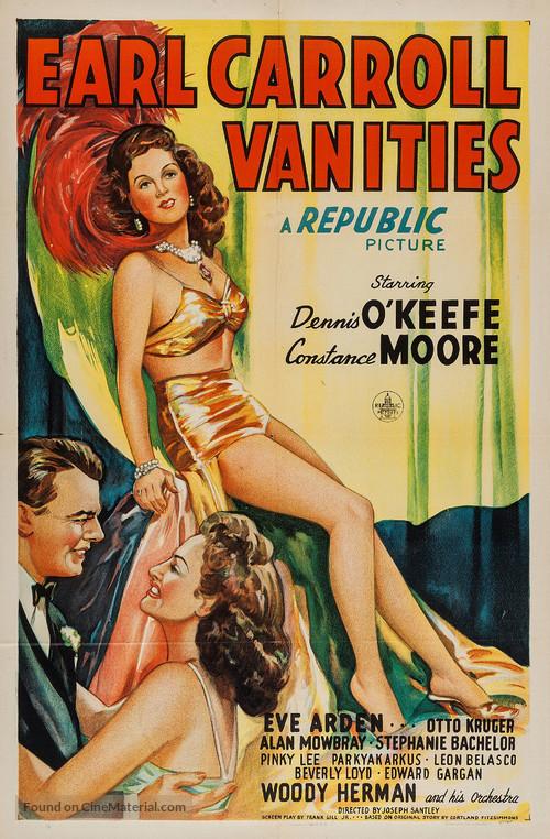 Earl Carroll Vanities - Movie Poster