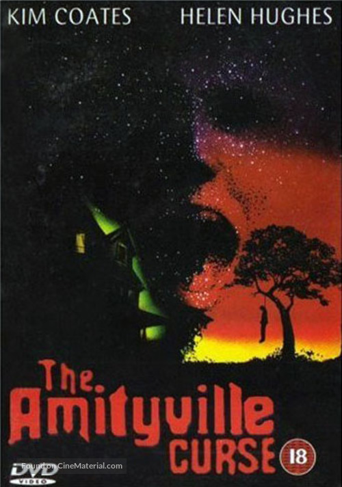 The Amityville Curse - British Movie Cover