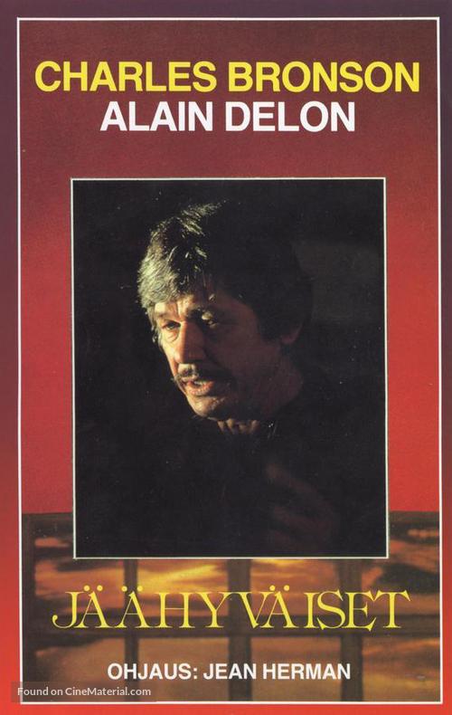 Adieu l'ami - Finnish VHS movie cover