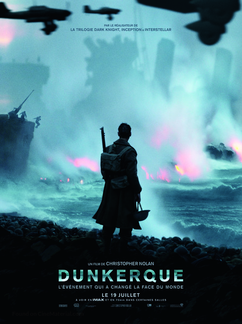 Dunkirk - French Movie Poster