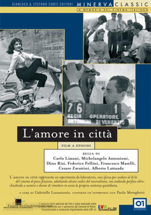 Amore in città, L' - Italian DVD movie cover