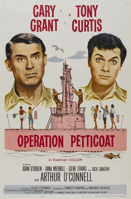 Operation Petticoat - Movie Poster