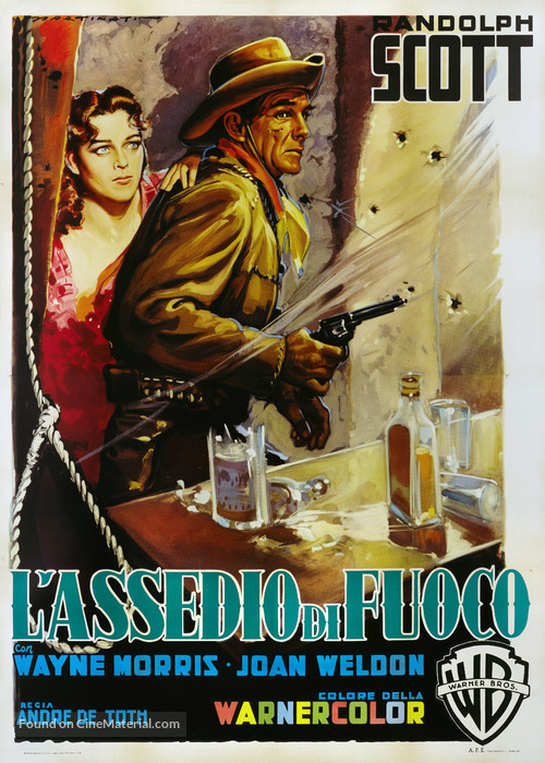Riding Shotgun - Italian Movie Poster