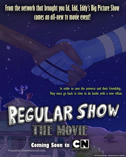 Regular Show: The Movie - Movie Poster