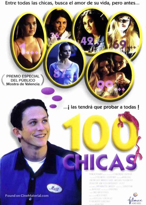 100 Girls - Spanish Movie Poster