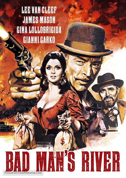 Bad Man's River - DVD movie cover