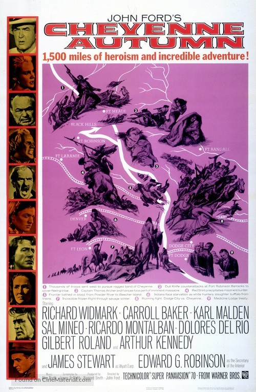 Cheyenne Autumn - Movie Poster