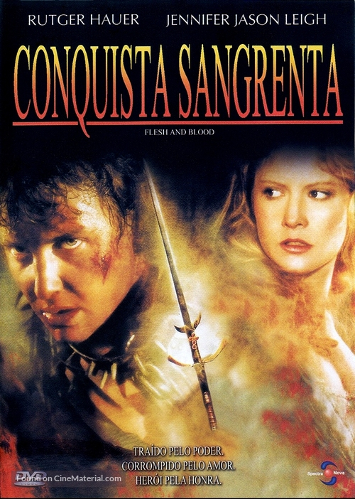 Flesh And Blood - Brazilian Movie Cover