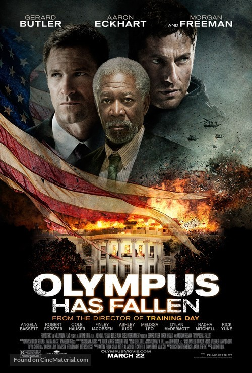 Olympus Has Fallen - Theatrical movie poster