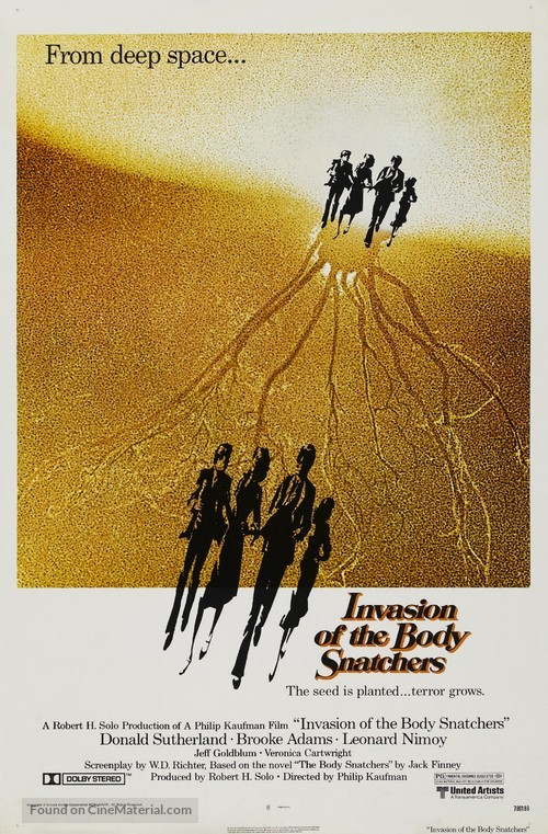 Invasion of the Body Snatchers - Movie Poster