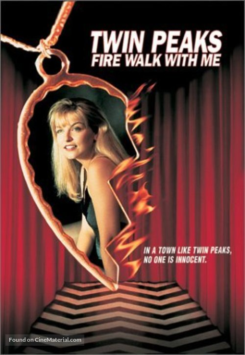 Twin Peaks: Fire Walk with Me - DVD movie cover