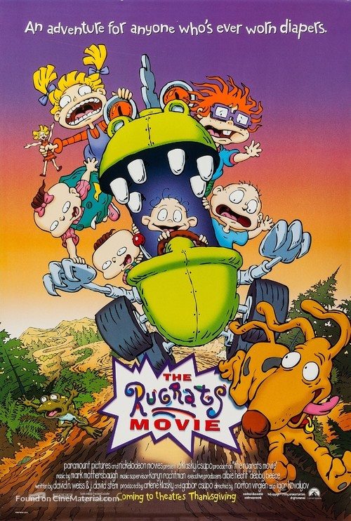 The Rugrats Movie - Movie Poster