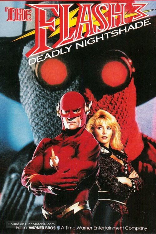Flash III: Deadly Nightshade - VHS movie cover